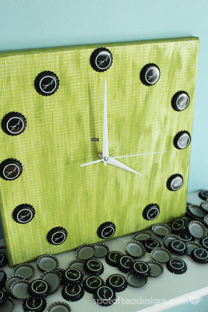 Beer Cap Clock