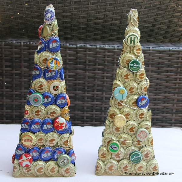 Bottle Cap Christmas Tree