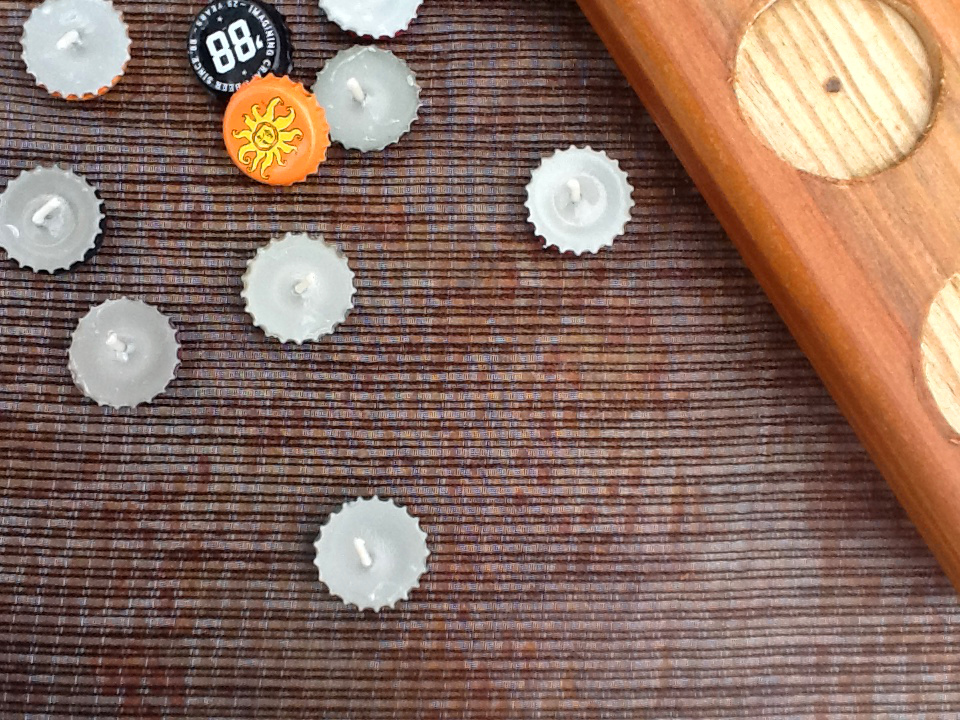 Bottle Cap Tea Lights