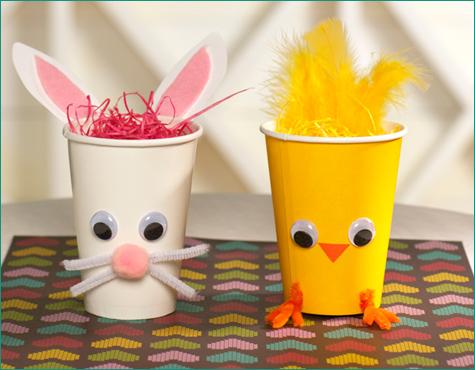 Chick Bunny Treat Holders