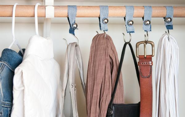 Shower Hook Closet Organizers