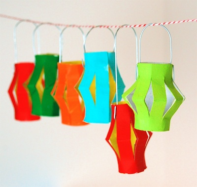 Toilet Paper Roll Party Lanterns