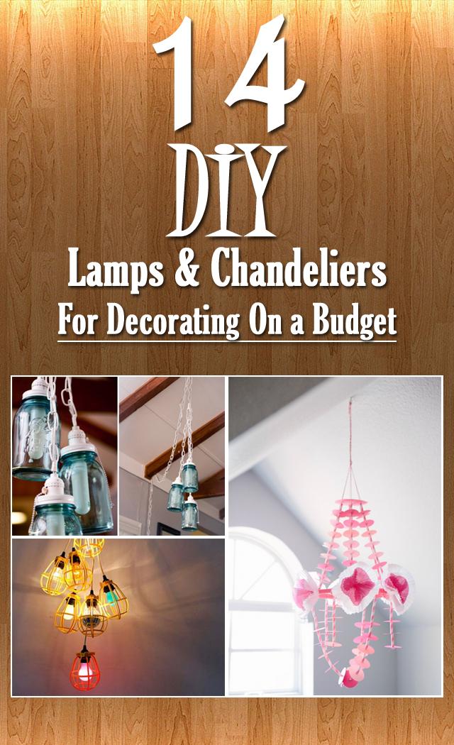 Nice Diy Chandelier Lamp Diy Lamp Shade Chandelier Ideas