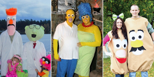 sc 1 st  DIY Roundup & 20 Best DIY Adult Halloween Costumes