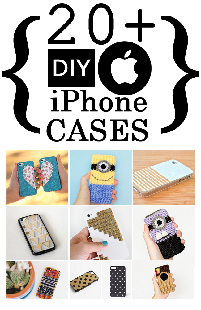 20+ Cute DIY APPLE iPhone Cases