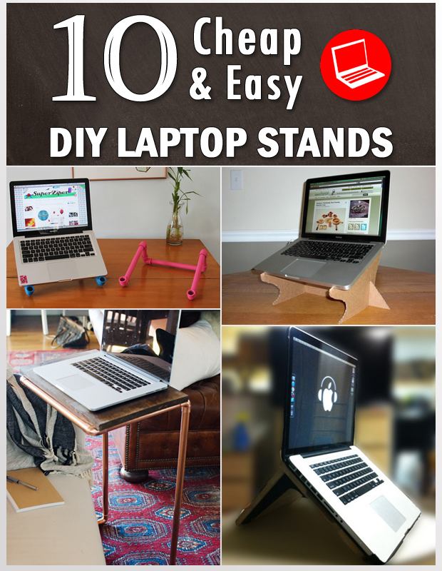 10 Cheap Amp Easy Diy Laptop Stands