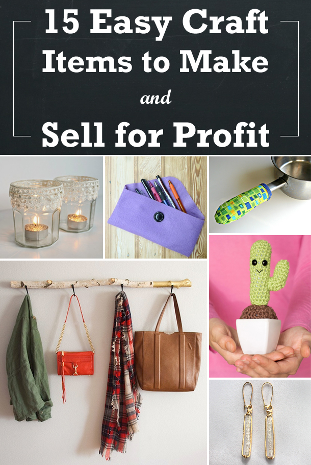 15 easy craft items to make and sell for profit for Money making crafts to sell