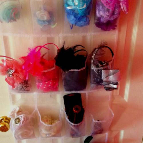 Hair accessory storage