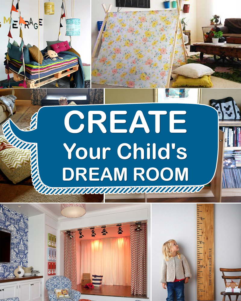 10 Cool DIY Ideas For Child S Dream Room