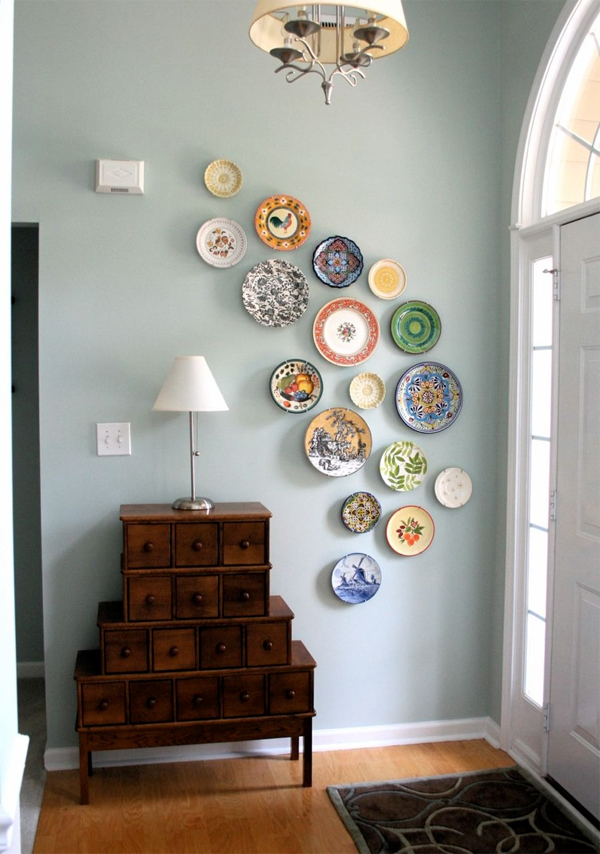 10 low cost wall decor ideas that completely transform the Low cost wall decor