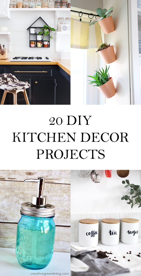20 Awesome DIY Kitchen Decor Projects