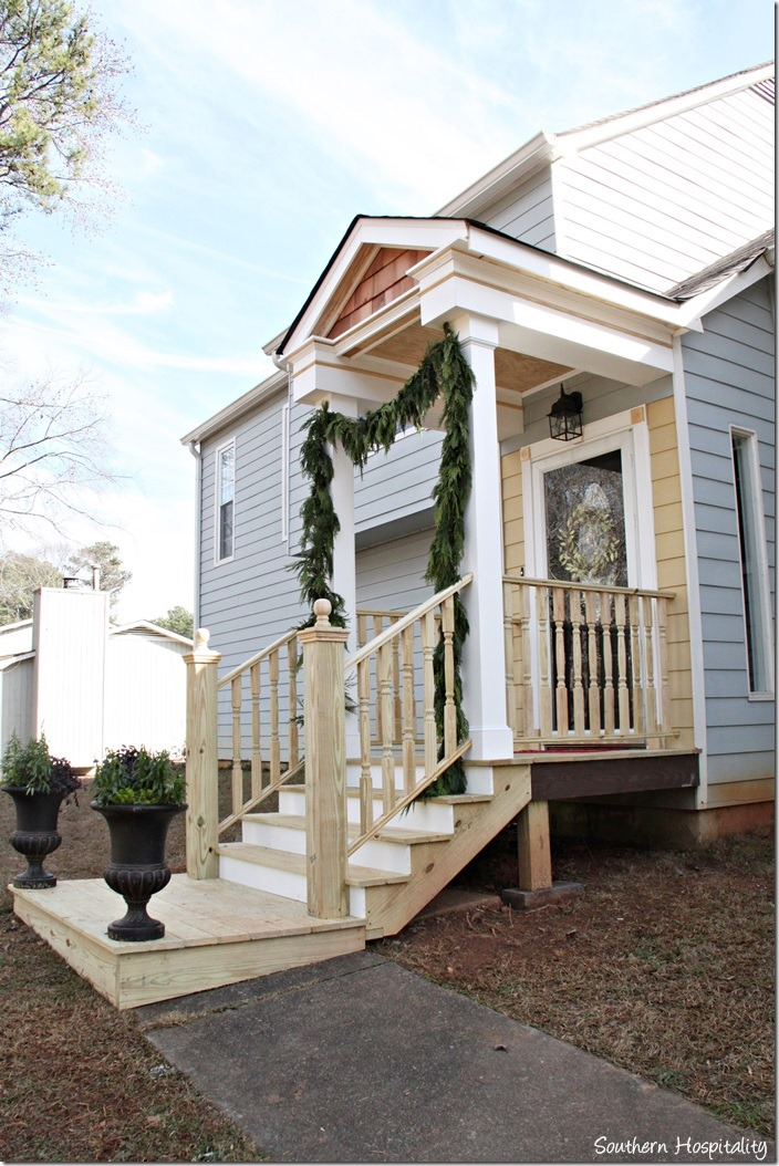 Add Appeal with a DIY Portico on a Front or Side Door