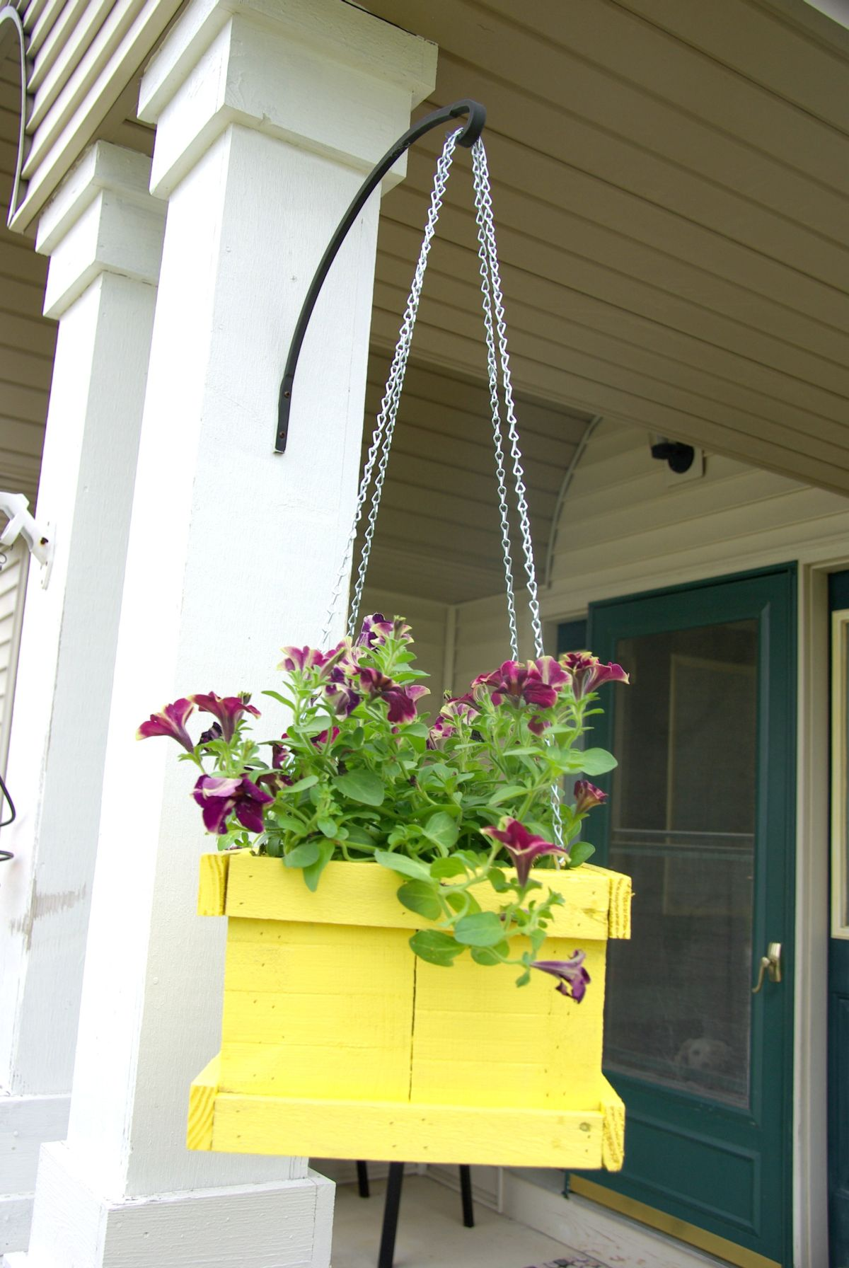 Add Some Hanging Planters to the Front Porch