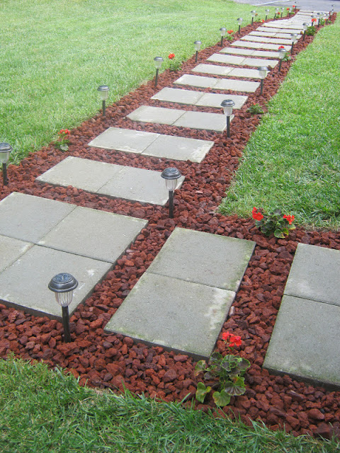 Lava Rock Pavers