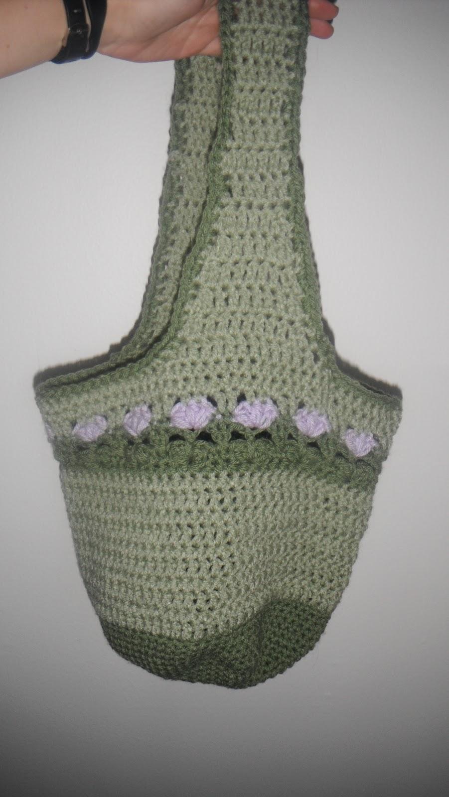 Lilac Meadows Hobo Bag