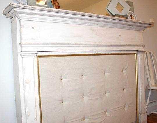 Turn Your Fireplace Mantle Into An Outstanding Headboard