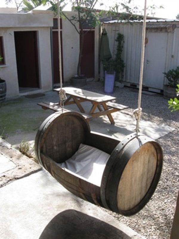 14 Cool Ways To Repurpose Wine Barrels