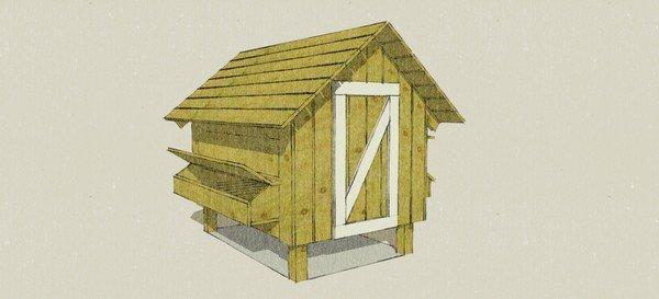 Chicken Coop Plan by BarnGeek