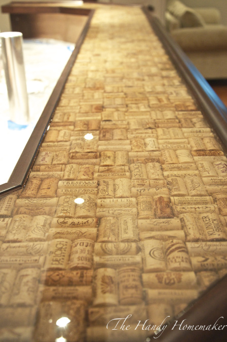 15 amazing diy kitchen countertop ideas Cork countertops