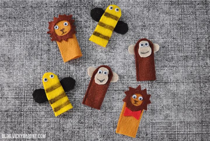 DIY Finger Puppets