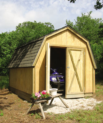 Drive-Thru Backyard Shed