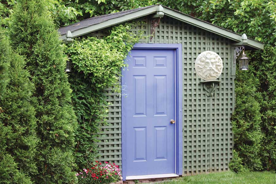Easy DIY Garden Shed