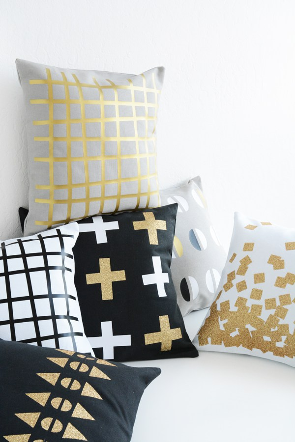 Geometric Patterned Pillows