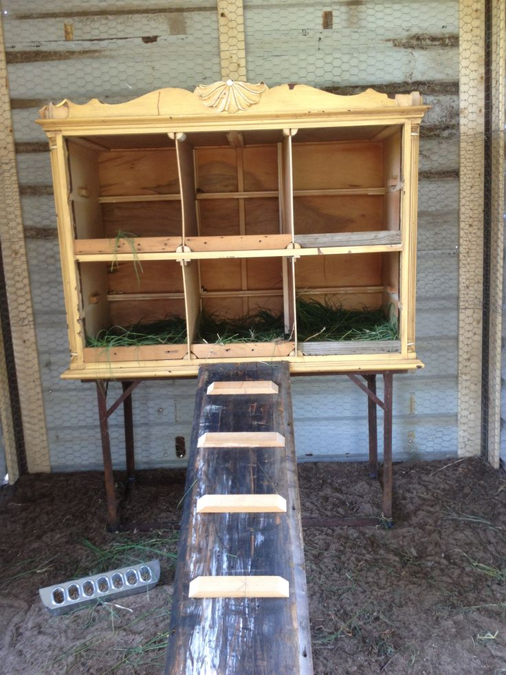 Repurpose an Old Dresser Into a Nesting Box