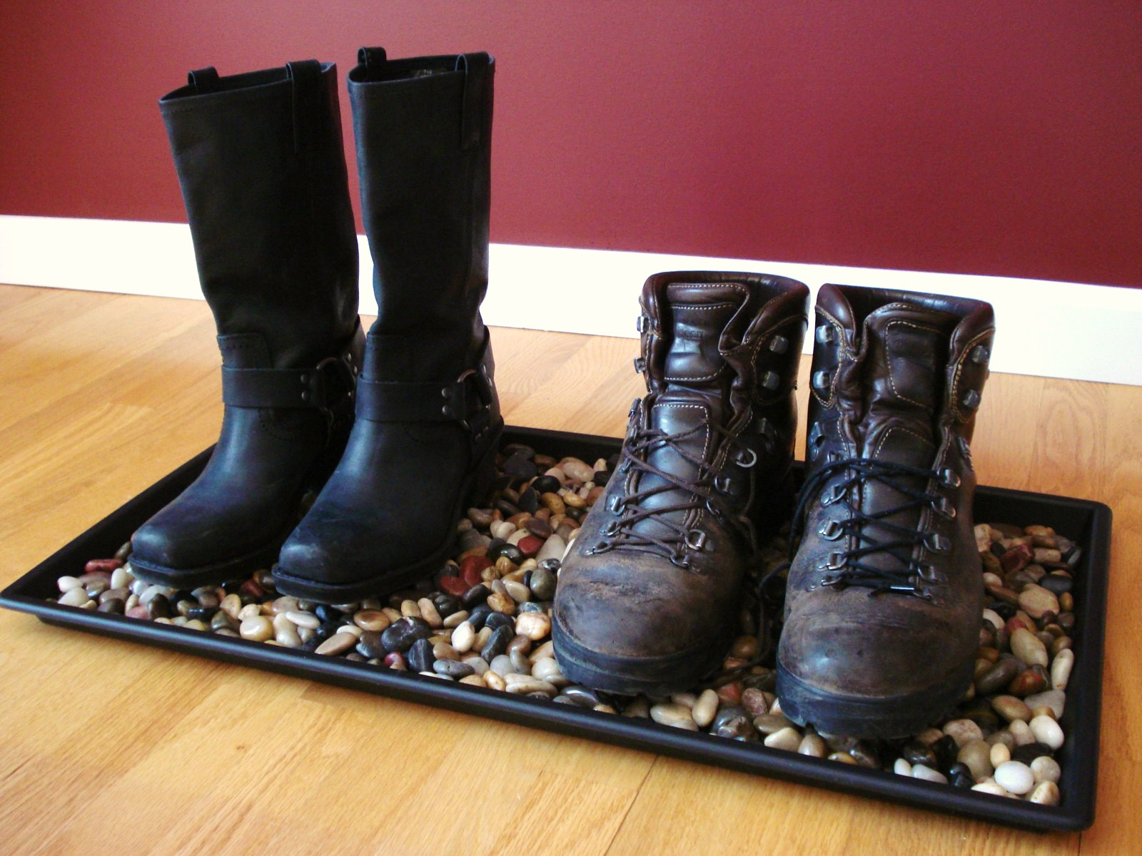 River Rock Boot Tray