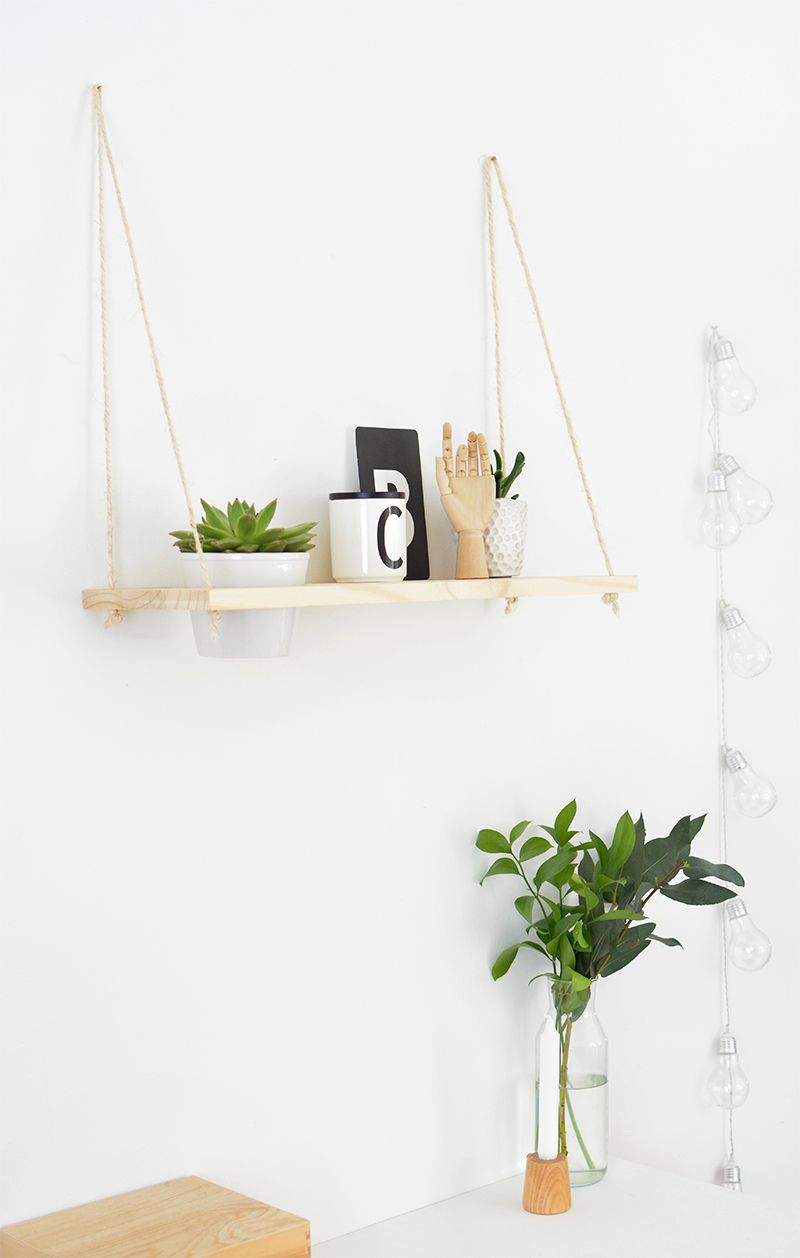 Rope Plant Shelf