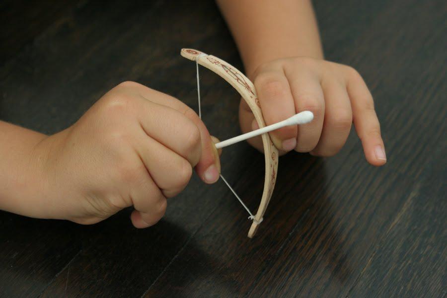 Tiny Bow & Arrow
