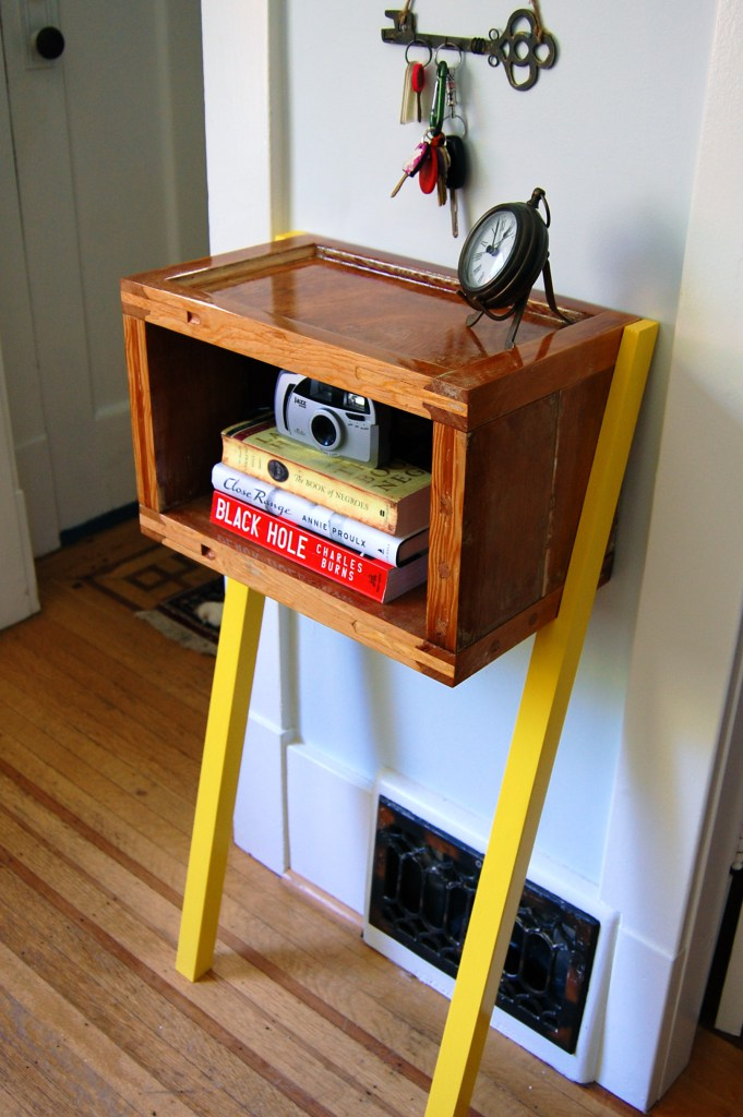 Upcycled Box Table