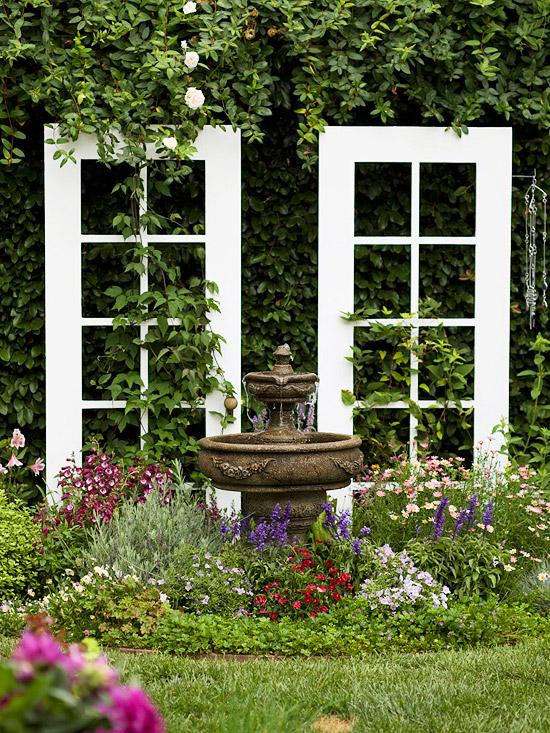 19 awesome diy trellis ideas for your garden for Diy garden arbor designs