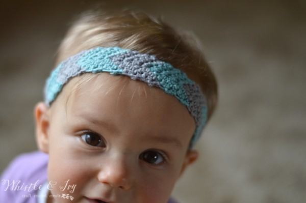 Simple Chevron Headband