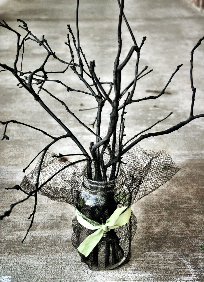 Spooky Sticks Centerpiece