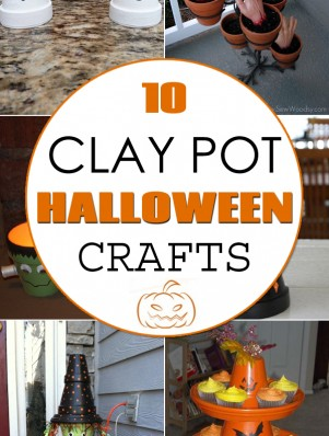 TOP 10 Clay Pot Halloween Crafts