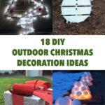 18 Amazing DIY Outdoor Christmas Decoration Ideas