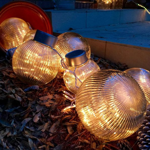 Outdoor Christmas Balls