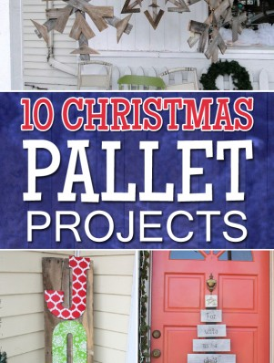 10 Christmas Pallet Projects