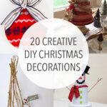 20 Creative DIY Christmas Decorations