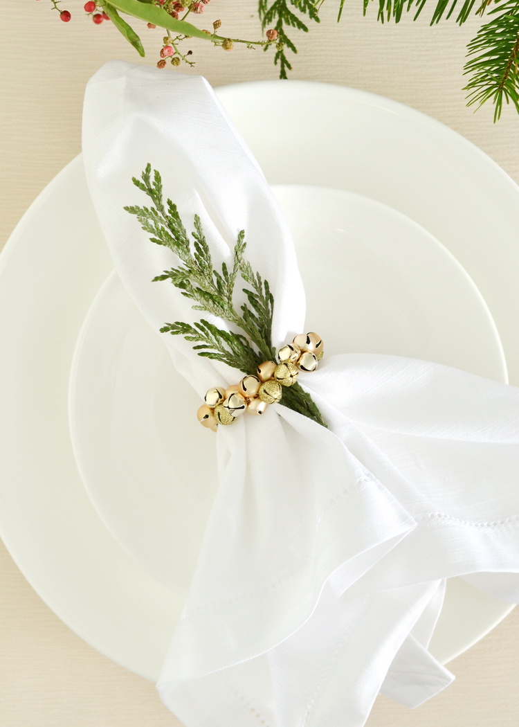 Jingle Bell Napkin Rings