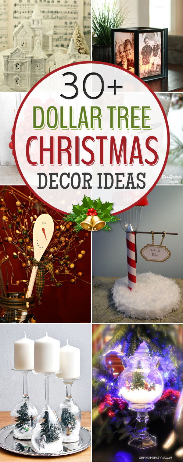 30+ Amazing Dollar Tree Christmas Decor Ideas