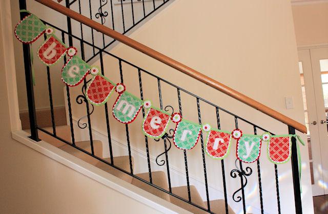 """Be Merry"" Festive Garland"