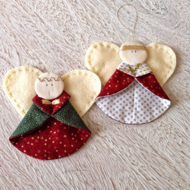 Christmas Angels Ornaments