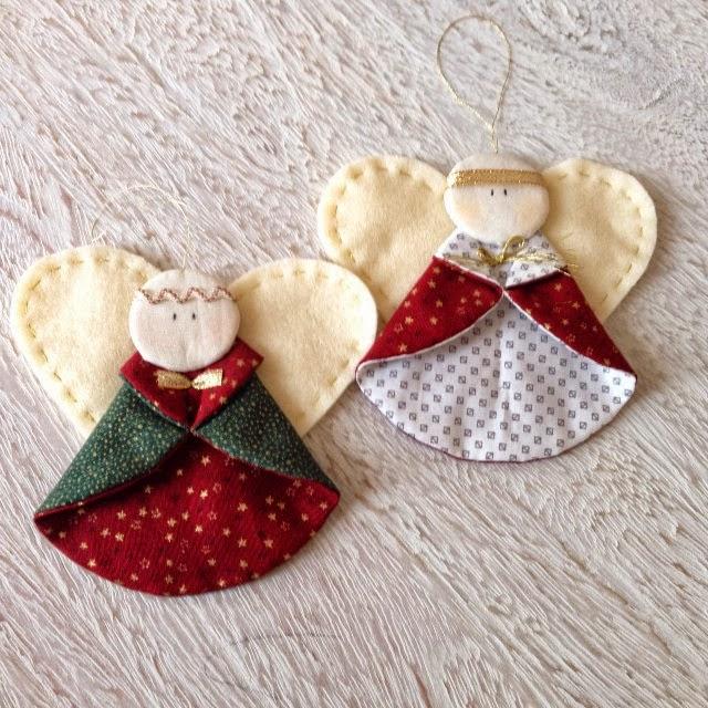 Christmas Angels Ornaments