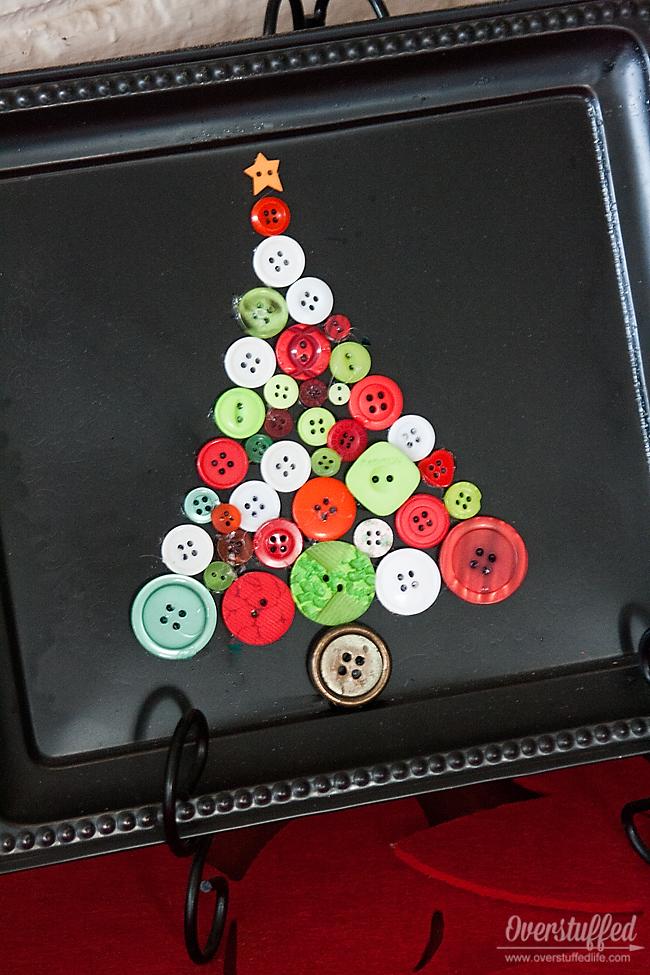 Dollar Tree Christmas Tray