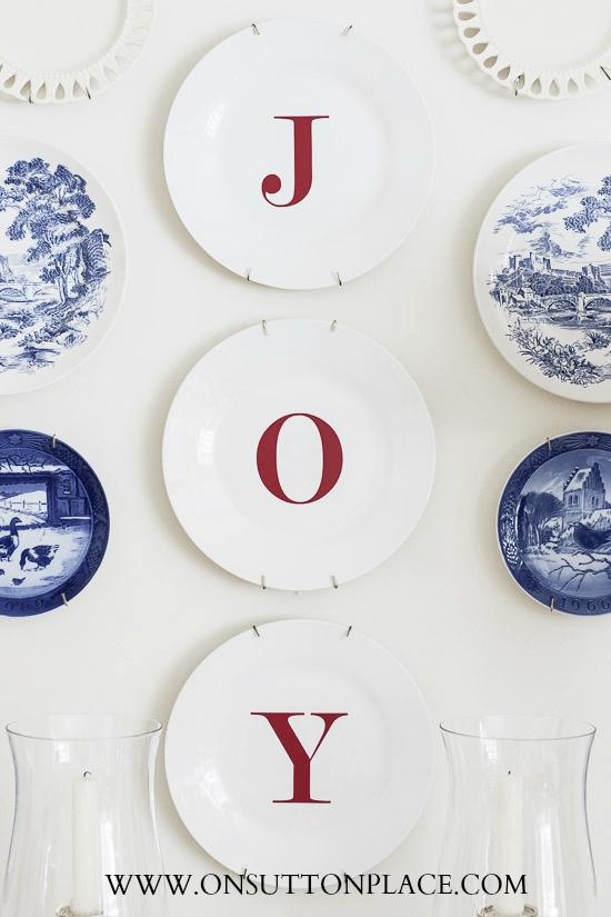 Dollar Tree Joy Plates