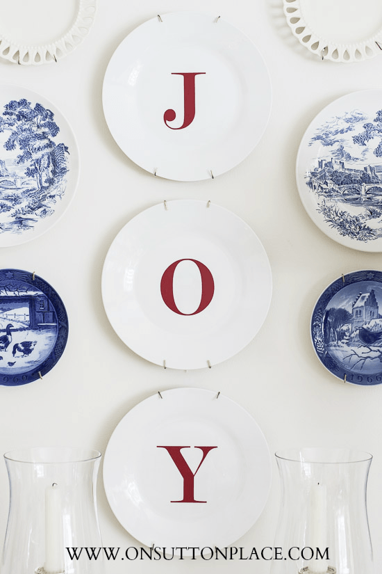 Dollar Tree Joy Plates