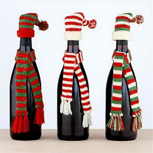 Dressed Up Bottles