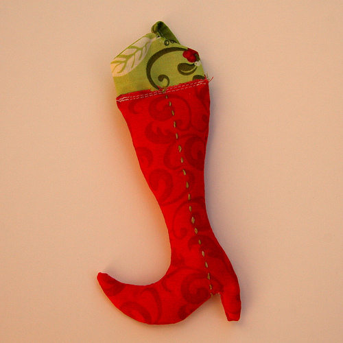 Elf Boot Ornament